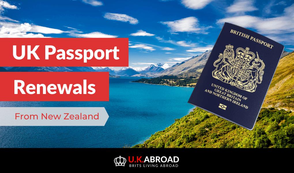 uk passport renewal in nz